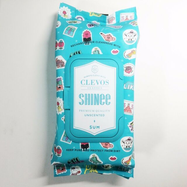 [NEW] SM TOWN SUM Cafe x Clevos Collaboration Premium Wet Tissue Collection (L)