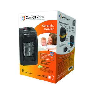 Comfort Zone Cz442 1500 Watt Ceramic Space Heater Portable