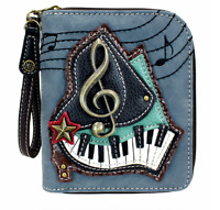 Charming Chala Perfect Piano Purse Wallet Credit Cards Coins Wristlet