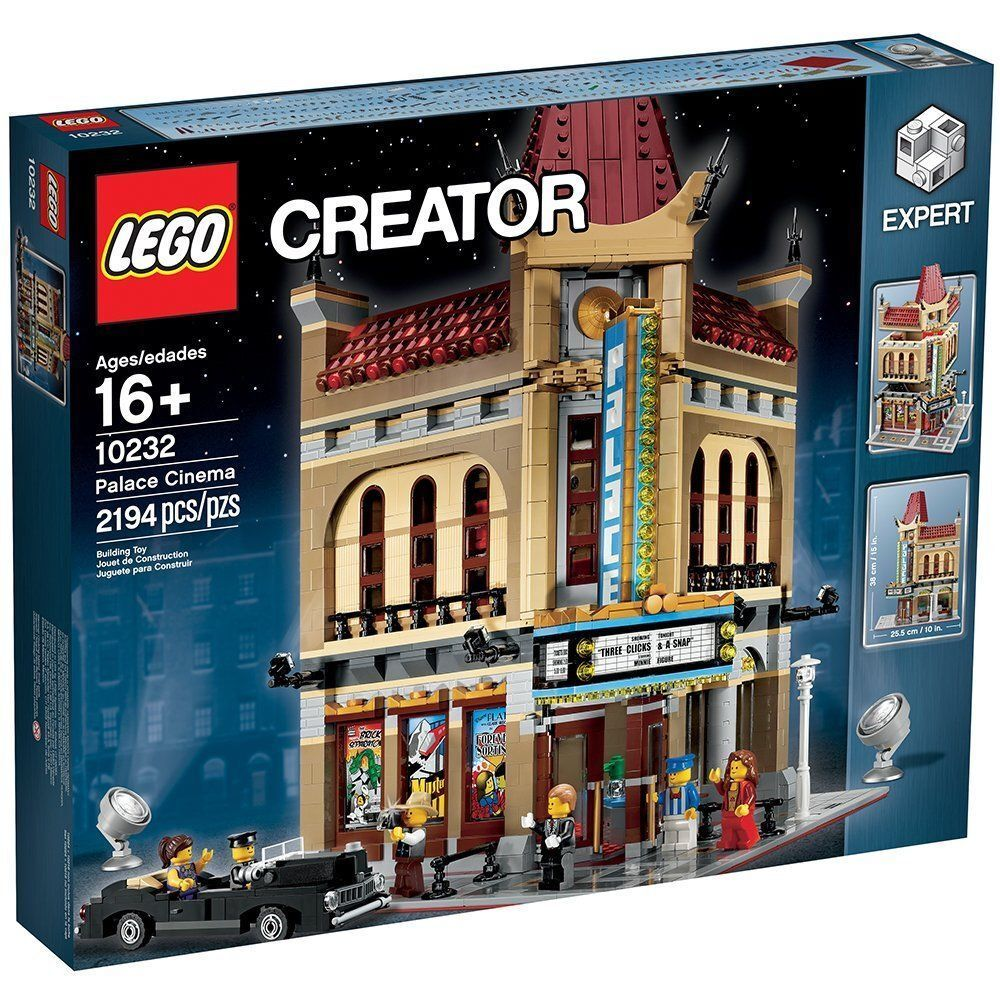 LEGO Creator 10232 Palace Cinema Brand Nuovo Sealed