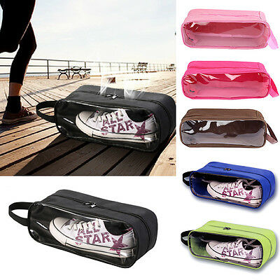Waterproof Portable Shoe Bag Travel Tote Laundry Pouch Organizer Storage Case