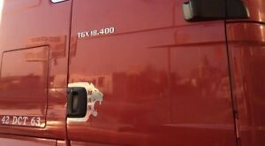 MAN-TRUCK-Door-Handle-Frame-Super-Polished-Stainless-Steel-2-Pcs