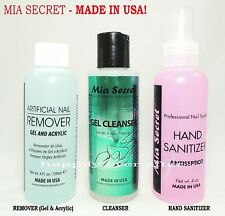 Mia Secret Acrylic & Gel Nail Polish Remover, Cleanser & Hand Sanitizer *USA*