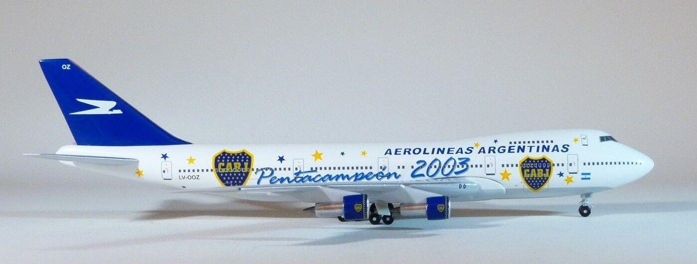 1 400 Bigbird 400 Aerolíneas argentoinas B 747-287B  pentacampéon 2003