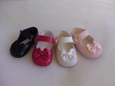 Bebé Niña BAY Vainas Soft PU ocasión especial vestido formal Zapatos con Toe Moño Negro