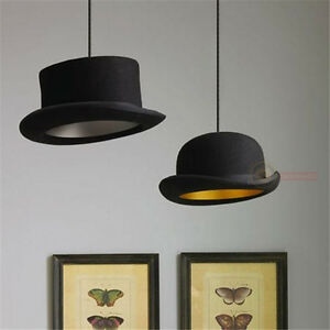 Jeeves-amp-Wooster-Wool-Hat-Tall-Hat-Bowler-Pendant-Light-Ceiling-Lamp-Lighting