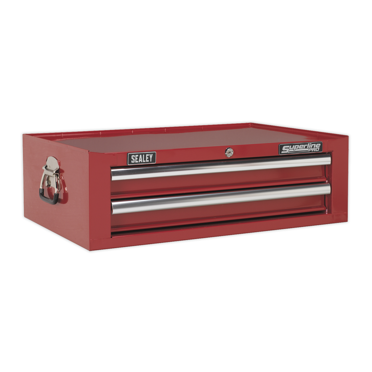 Mid-Box 2 Drawer with Ball Bearing Slides - rot   SEALEY AP26029T by Sealey   Ne