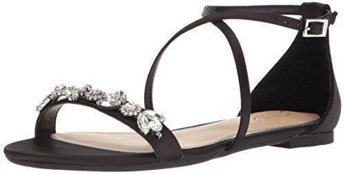 Jewel Badgley Mischka donna Tessy Flat Sandal 7- 7- 7- Pick SZ colore. 9e5cad