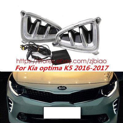 For 2016 2017 Kia Optima Sx Limited Front Bumper Fog Light Cover