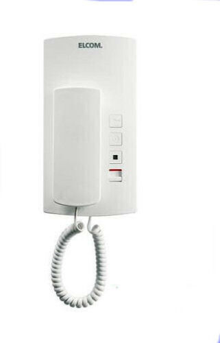2 pièces Elcom codé türtelefon Téléphone hat-402 blanc Audio 1+n 130.810.0