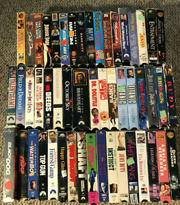 VHS-VCR-50-Video-Movie-Huge-Lot-R-Comedy-Drama-Action-Lesser-Condition-LOOK