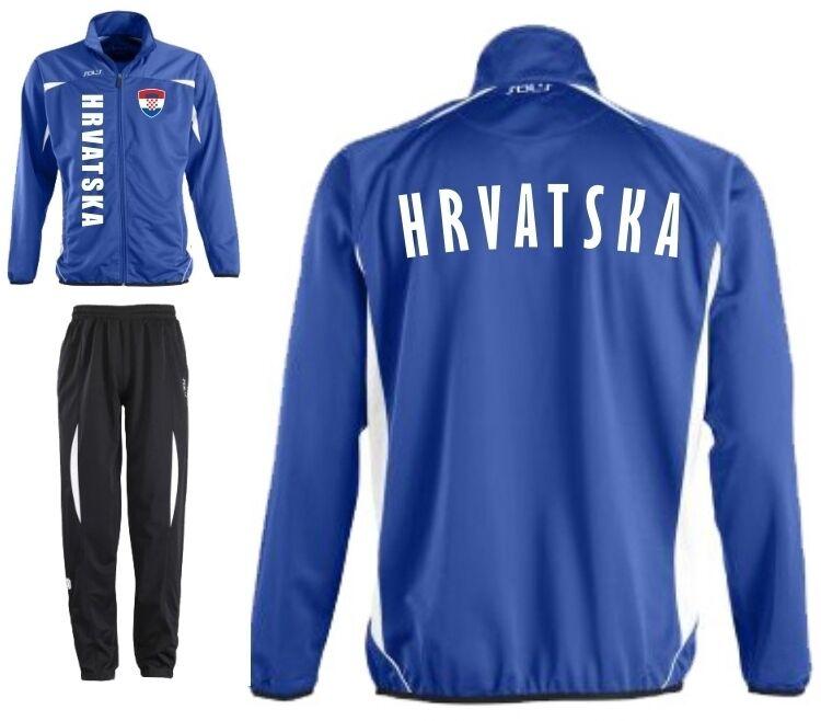 KROATIEN HRVATSKA Sportanzug Trainingsanzug - Fussball -Sport - S M L XL XXL