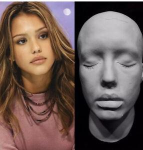 Jessica-Alba-Life-Mask-Cast-Sin-City-Honey-Into-The-Blue-Great-Detail-Very-Rare
