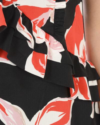 Vestito Liu Jo Dress Donna Nero C18181T2079 V9323 fantasia fiori