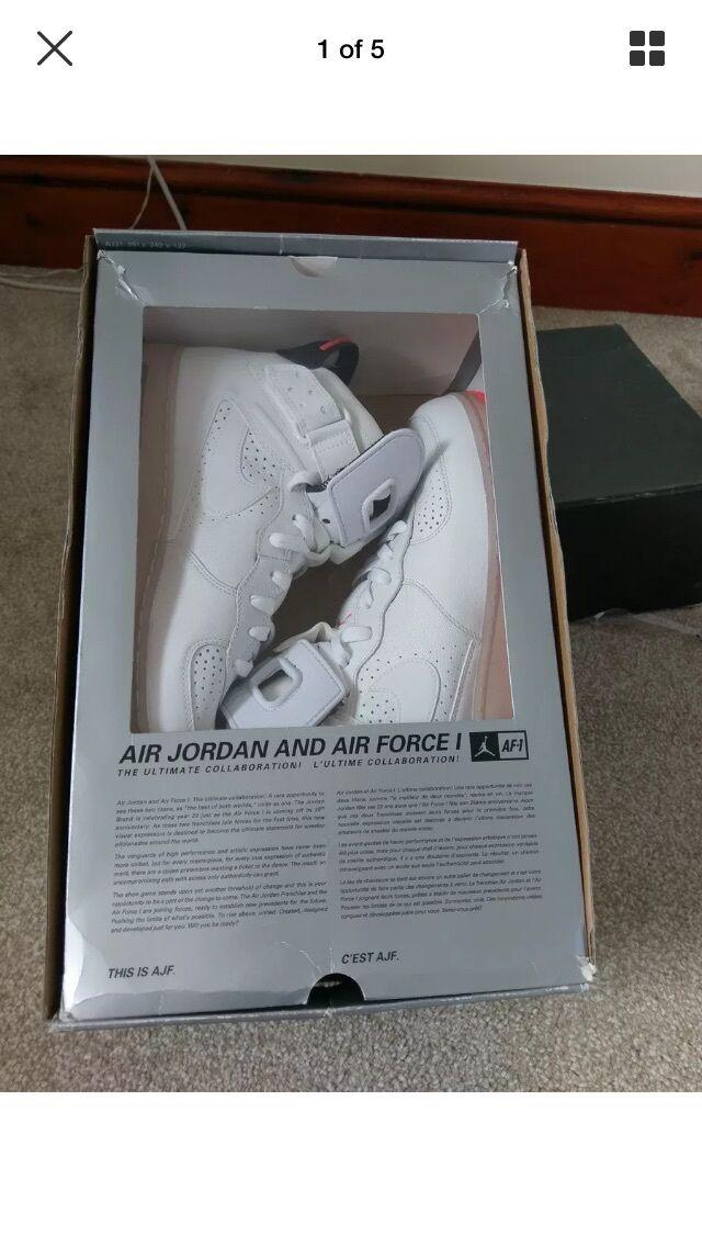 Nike Jordan 6 Airforce 1 fusions