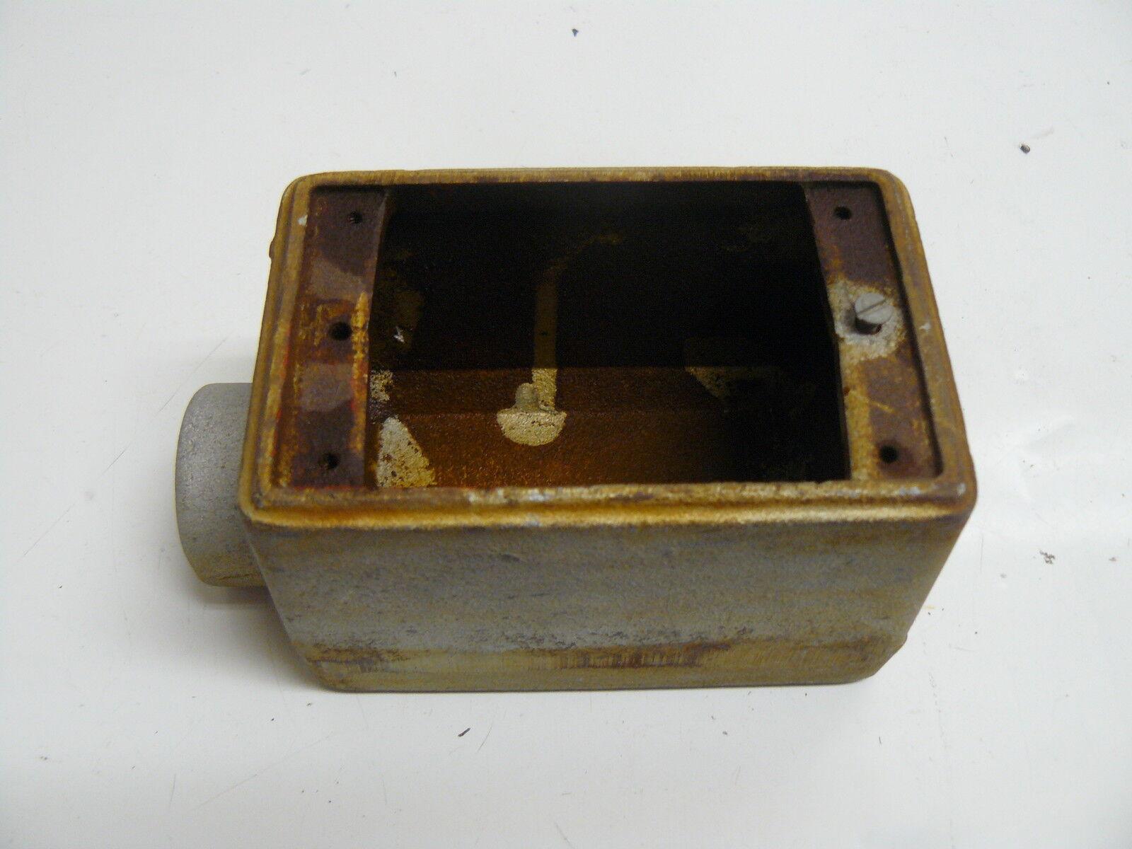 "In Hazardous Location 3//4/"" Explosion Proof Outlet Box 763980 17.0 Cu"