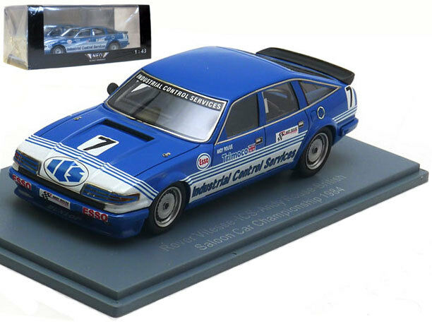 NEO Rover Vitesse 'ICS' British Saloon Car Champion 1984 - Andy Rouse 1 43 Scale