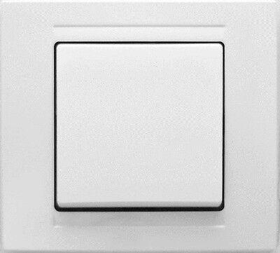 MODERNA Schalter Steckdosen SET, Ausschalter, Dimmer, Einschalter, Lichtschalter