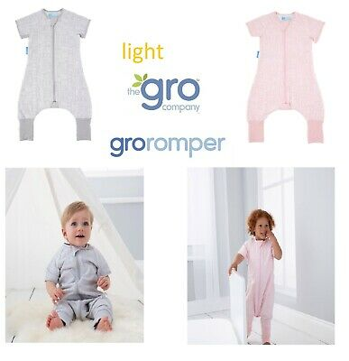 Charitable Grobag Gro Romper Baby Toddler Groromper Playsuit Sleepsuit 12 18 24 36 Light Products Hot Sale
