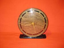 Vintage Art Deco Mechanical Brass Mantel Clock