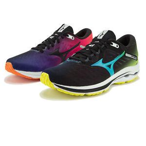 MIZUNO homme wave rider 24 Chaussures De Course Baskets Sneakers Noir Bleu Rose Violet