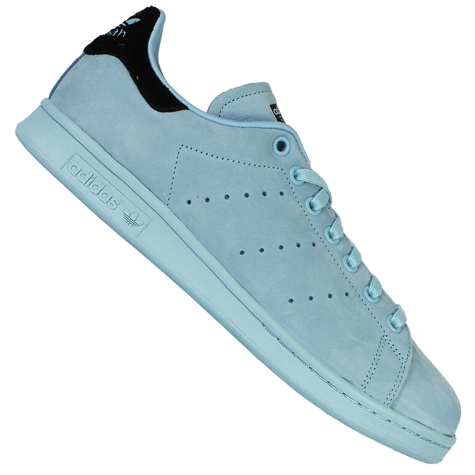 Adidas Originals Stan Smith Zapatillas Deportivas Cuero Bz0391 Azul Hielo Claro