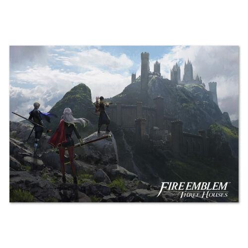 Fire Emblem Three Houses Poster Official Box Art High Quality Prints