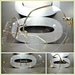 2584b319b68d Image is loading OVERSIZED-VINTAGE-RETRO-Style-Clear-Lens-EYE-GLASSES-
