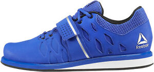 Reebok Trainers Gym Boots Lifter Mens Scarpe Blu Weightlifting Bodybuilding Pr ZTrOq8Z