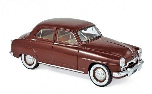 Simca 9 Aronde 1953 Amarante rouge 1 18 Norev