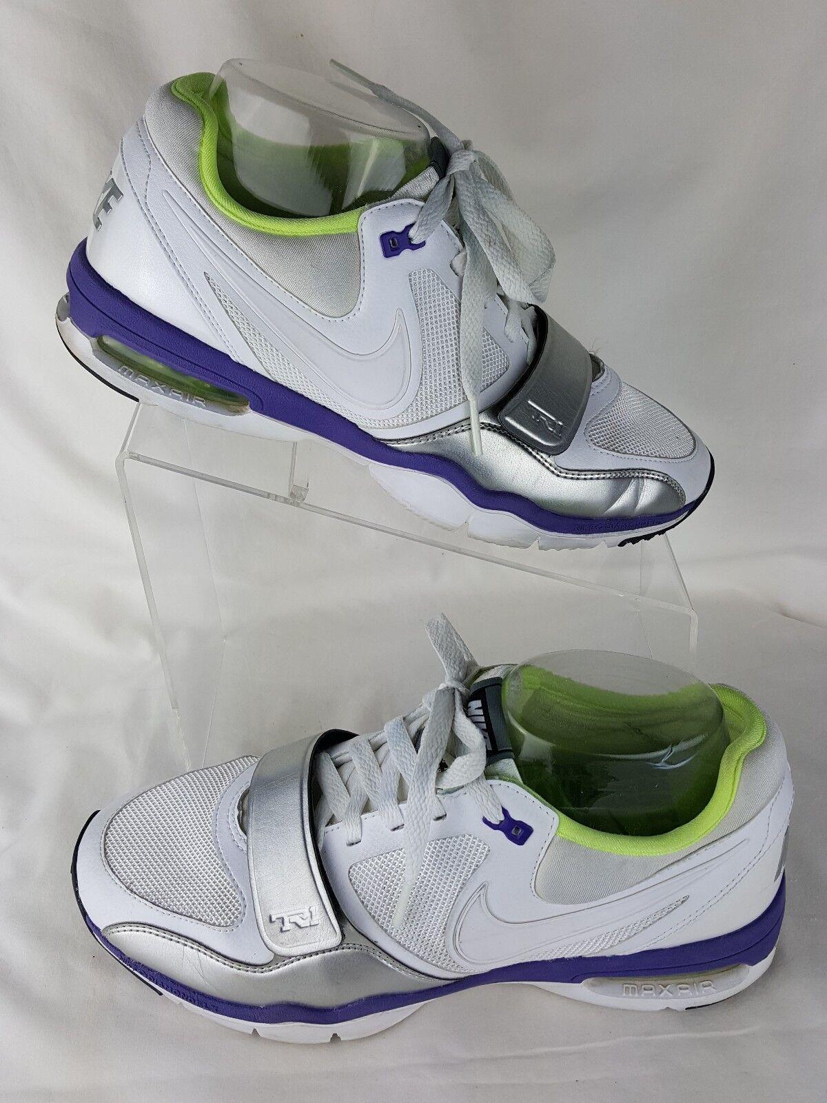nike 8,5 donne trainer un tr1 scarpe bianco viola viola viola max aria solo euc | Ottima selezione  | Uomo/Donna Scarpa  ac2815