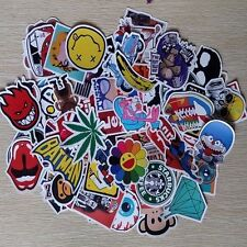 50pcs /lot Car Sticker Bomb Decal Vinyl Roll Skate Skateboard Laptop Luggage KF