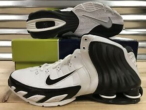 the latest c57bb be38b Image is loading Nike-Shox-Flight-Lethal-TB-2005-Shoes-VC-