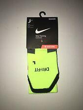 Nike VOLT Training Socks Soccer Football Elite Cushioned Large Dri Fit