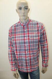 Camicia-TOMMY-HILFIGER-Uomo-Shirt-Chemise-Man-Taglia-Size-L