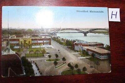 Postkarte Ansichtskarte Nordrhein- Westfalen Düsseldorf Rheinansicht BerüHmt FüR AusgewäHlte Materialien, Neuartige Designs, Herrliche Farben Und Exquisite Verarbeitung