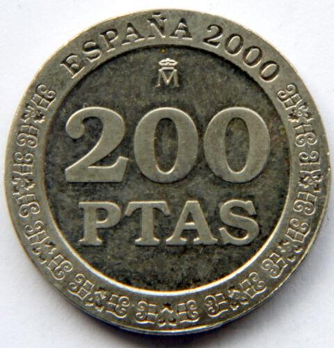 "MINT ROLL SPAIN JUAN CARLOS I 200 PESETAS 2000 /""200/"" KM-992"