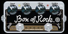 USED ZVEX VEXTER SERIES BOX OF ROCK DISTORTION PEDAL w/ FREE CABLE 0$ US SHIP
