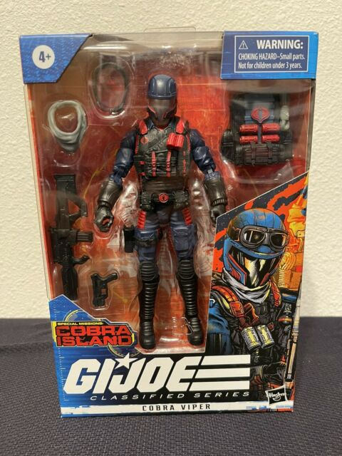 GI Joe Classified Series Cobra Viper Island Action Figure NEW In Hand