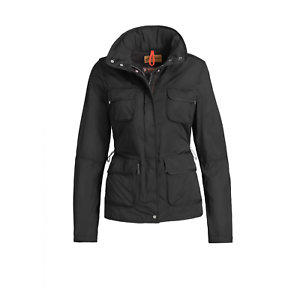 Parajumpers-Desert-Jacket-Windbreaker-Jacket-Black-Womens-Size-Small