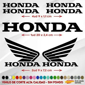 KIT-7X-PEGATINA-HONDA-ALAS-MOTO-RACING-VINILO-STICKER-BIKE-COCHE-MOTO-COLORES