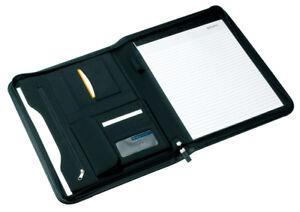 Professionelle-Aktenmappe-Businessmappe-Konferenzmappe-Schreibmappe-A4-Format
