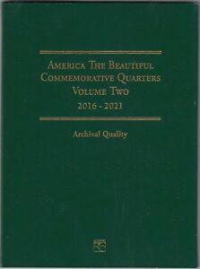Coin-Folder-for-2016-2021-National-Park-Quarters-P-amp-D-Vol-2-LCF44-by-Littleton