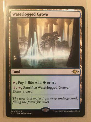 MTG Modern Horizons Waterlogged Grove Rare NM//M Magic the Gathering