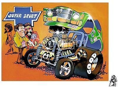 DEALS WHEELS SUPER SPURT RACE CAR TSHIRT #4174 RC racer revell model art