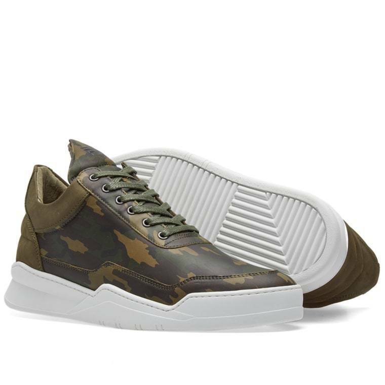 Filling pieces low top ghost camo men sneaker fp 40 us 8 uk 7 EU 41 ( rrp 215)