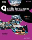 Q Skills for Success: Intro Level: Reading & Writing Student Book with IQ Online by Oxford University Press (Mixed media product, 2015)