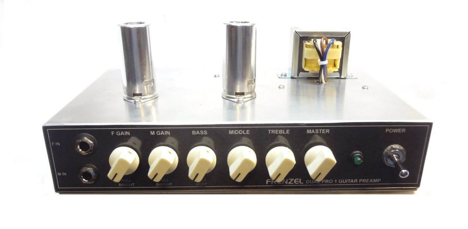 FRENZEL Dual Channel Channel Channel FM-DP1 Guitar Tube Preamp 223af0