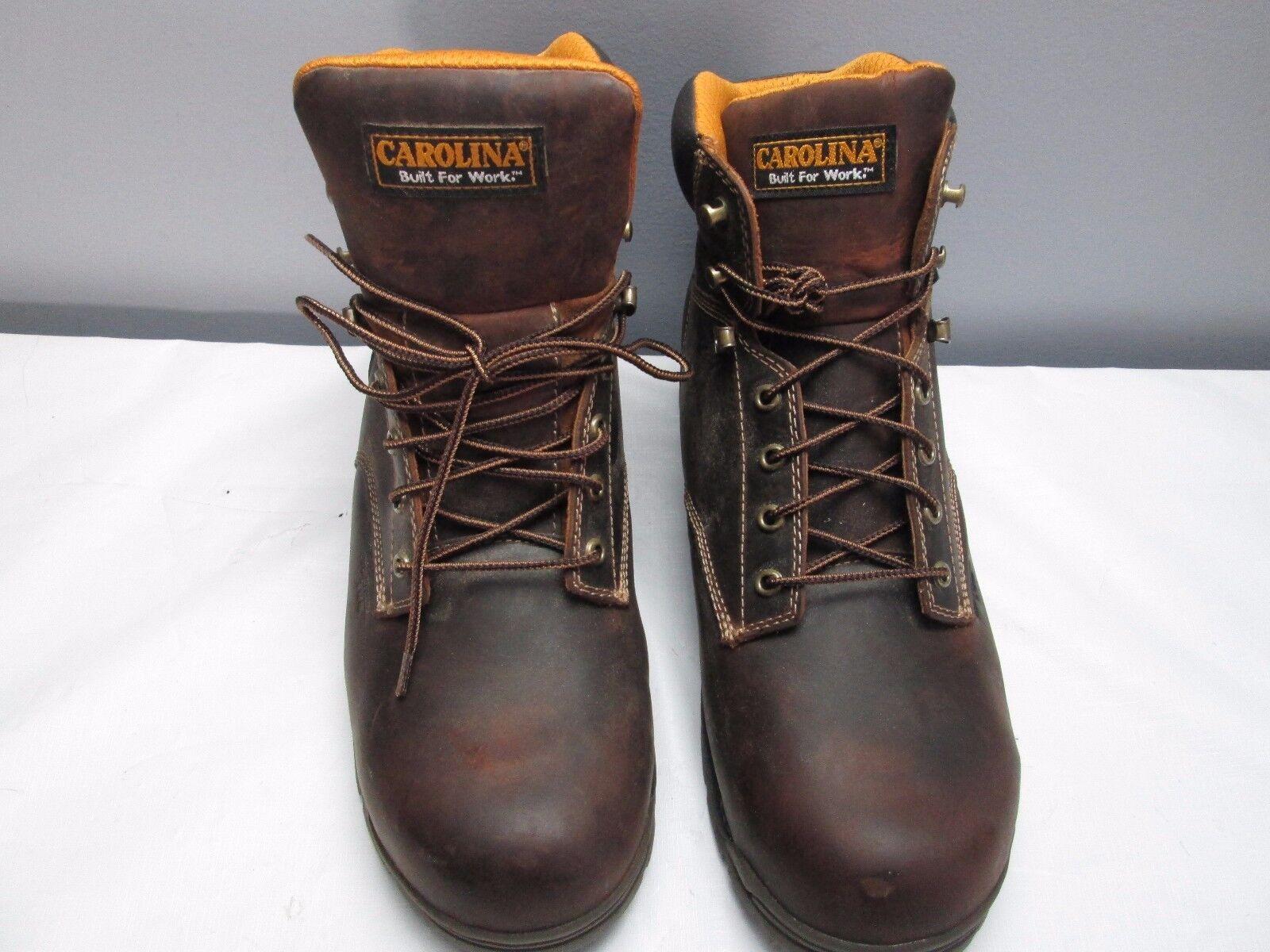 US Mens Größe 15 Leather Stiefel Waterproof Oil & Slip Resisting Carolina