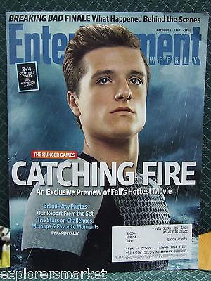 Entertainment Weekly Josh Hutcherson Peeta Hunger Games Catching Fire 10 11 2013